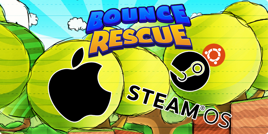Bounce Rescue! is now available for Linux and Mac OS X
